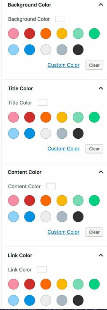 Background Options for Custom Post Types Block