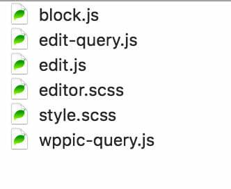 Plugin Info Card src/block Folder