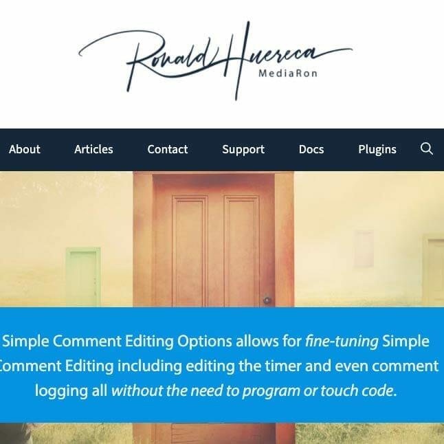 Sample Simple Header Design