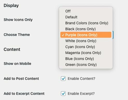 Highlight and Share Themes